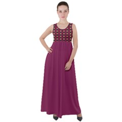 Fantasy 005ix Empire Waist Velour Maxi Dress by Fantasy