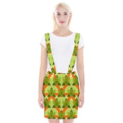 Texture Plant Herbs Herb Green Braces Suspender Skirt