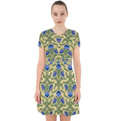 Pattern Thistle Structure Texture Adorable In Chiffon Dress by Pakrebo