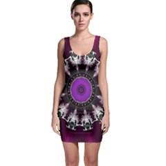 Kaleidoscope Round Circle Geometry Bodycon Dress