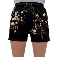 Shooting Stars Sleepwear Shorts by WensdaiAddamns