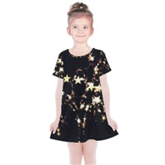 Shooting Stars Kids  Simple Cotton Dress by WensdaiAddamns