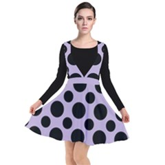 Polka Dots (large) Plunge Pinafore Dress by TimelessFashion