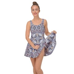 Triangle Pattern Kaleidoscope Inside Out Casual Dress by AnjaniArt