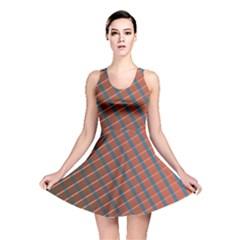 Graphic Stripes Reversible Skater Dress by LoolyElzayat