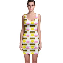 Donuts Fry Cake Bodycon Dress