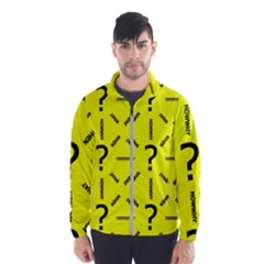 Crime Investigation Police Windbreaker (men) by Alisyart