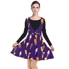 Seamless Ice Cream Plunge Pinafore Dress