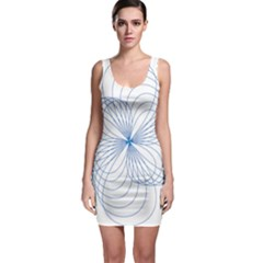 Spirograph Pattern Drawing Bodycon Dress by Alisyart