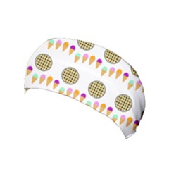 Pizza Ice Cream Party Food Yoga Headband by AnjaniArt