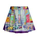Time Square  Mini Flare Skirt