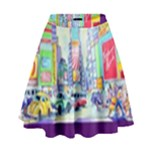 Time Square  High Waist Skirt