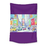 Time Square  Small Tapestry