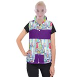 Time Square  Women s Button Up Vest