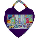 Time Square  Giant Heart Shaped Tote