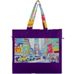 Time Square  Canvas Travel Bag