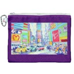 Time Square  Canvas Cosmetic Bag (XXL)