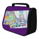 Time Square  Full Print Travel Pouch (Small)