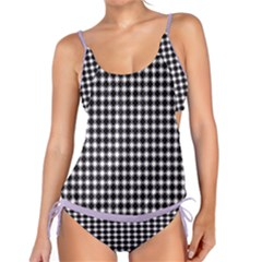 Square Effect  Tankini Set by TimelessFashion