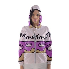 Donuts Sweet Food Hooded Windbreaker (women)