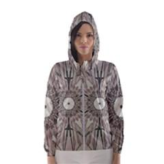 Digital Art Space Hooded Windbreaker (women)