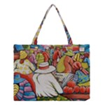 At The Shops  Medium Tote Bag