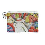At The Shops  Canvas Cosmetic Bag (Medium)