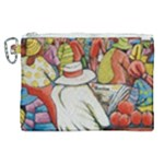 At The Shops  Canvas Cosmetic Bag (XL)