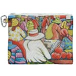 At The Shops  Canvas Cosmetic Bag (XXL)