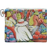At The Shops  Canvas Cosmetic Bag (XXXL)