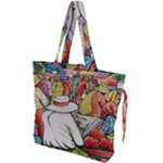 At The Shops  Drawstring Tote Bag