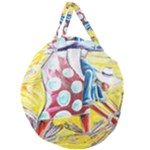 The Harvesters  Giant Round Zipper Tote