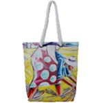 The Harvesters  Full Print Rope Handle Tote (Small)
