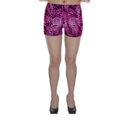 Luxury Animal Print Skinny Shorts by tarastyle