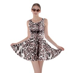 Luxury Animal Print Skater Dress by tarastyle