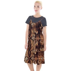 Luxury Animal Print Camis Fishtail Dress by tarastyle