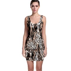 Luxury Animal Print Bodycon Dress by tarastyle