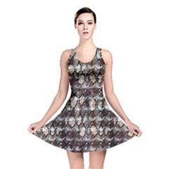 Luxury Animal Print Reversible Skater Dress by tarastyle