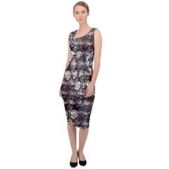 Luxury Animal Print Sleeveless Pencil Dress by tarastyle