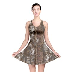 Luxury Animal Print Reversible Skater Dress by tarastyle