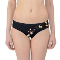 Shooting Star Hipster Bikini Bottoms by WensdaiAddamns