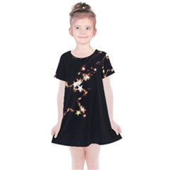 Shooting Star Kids  Simple Cotton Dress by WensdaiAddamns