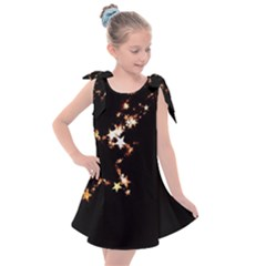 Shooting Star Kids  Tie Up Tunic Dress by WensdaiAddamns