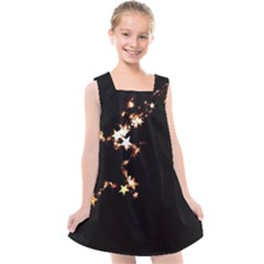 Shooting Star Kids  Cross Back Dress by WensdaiAddamns