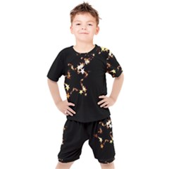 Shooting Star Kids  Tee And Shorts Set by WensdaiAddamns