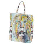 Lion  Giant Grocery Tote