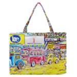 At the Maleny Shopping Centre  Zipper Medium Tote Bag