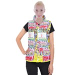 At the Maleny Shopping Centre  Women s Button Up Vest