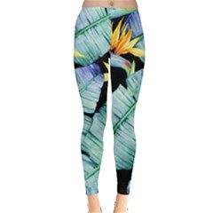 Fancy Tropical Pattern Leggings  by tarastyle