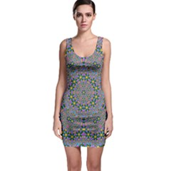 Background Image Creativity Bodycon Dress by Pakrebo